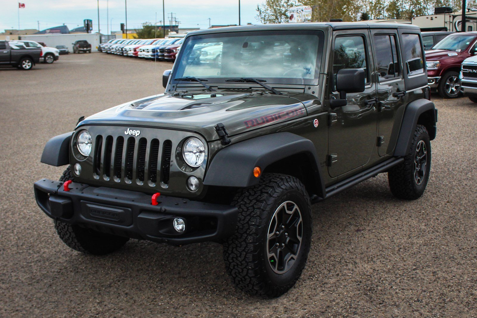 Used 2016 Jeep Wrangler Unlimited Rubicon Touchscreen Bluetooth Pre Owned