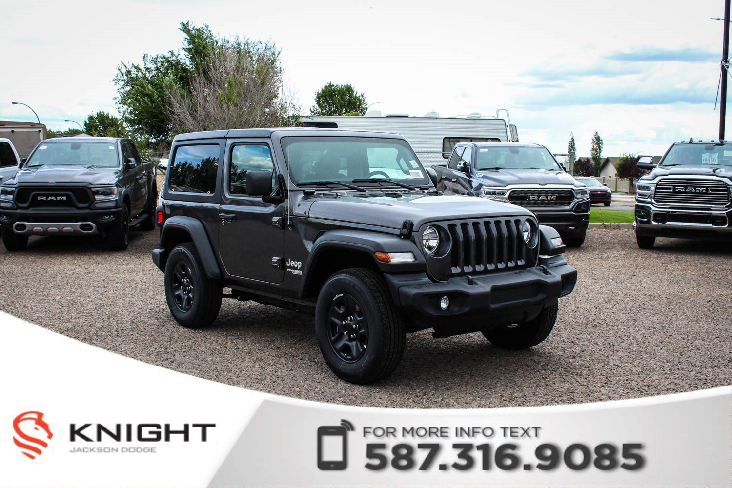 New 2019 Jeep Wrangler Sport Turbo
