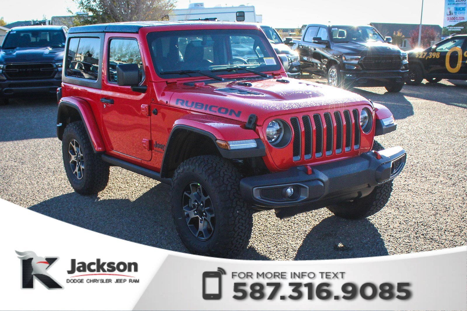 New 2018 Jeep Wrangler Rubicon Turbo | Navigation - $287 B/W!