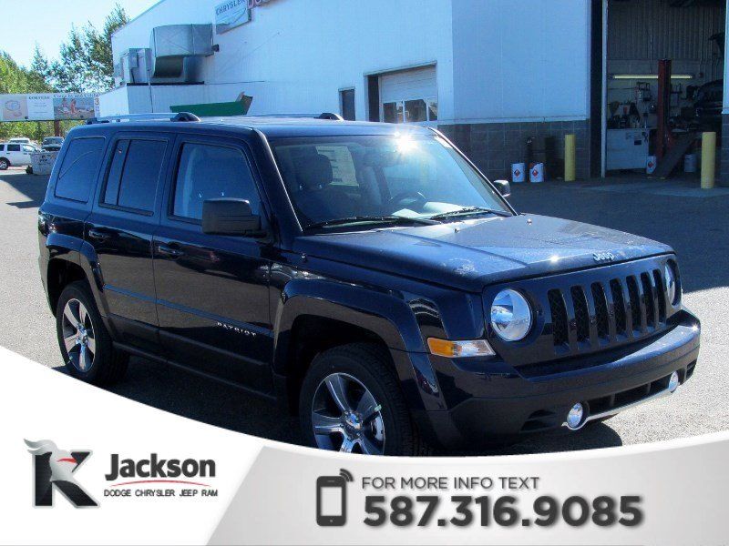 Pre-Owned 2017 Jeep Patriot High Altitude 4x4 | Leather | Sunroof | Remote Start