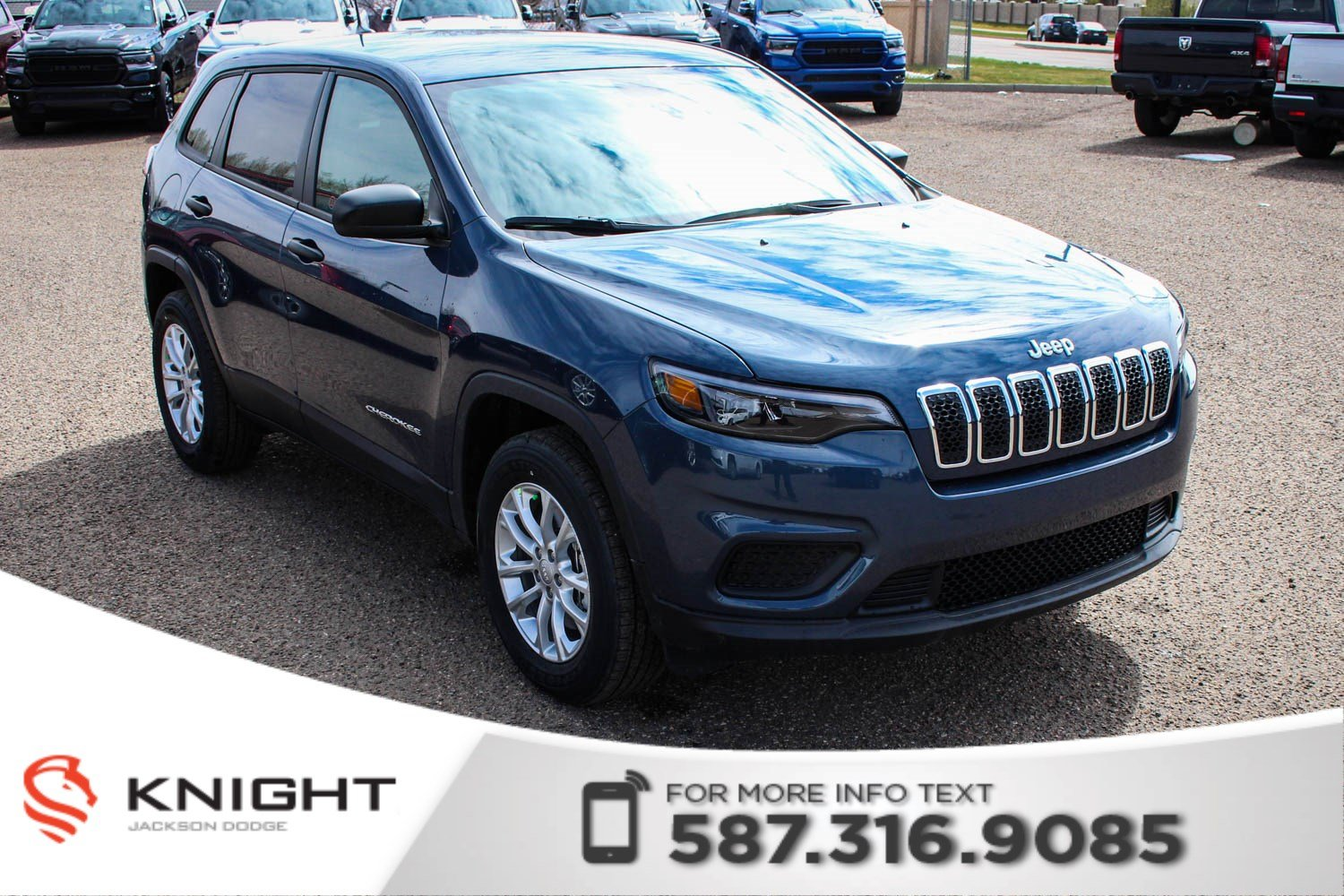 New 2019 Jeep Cherokee Sport 4x4 V6 | Heated Seats and Heated Steering Wheel | Remote Start