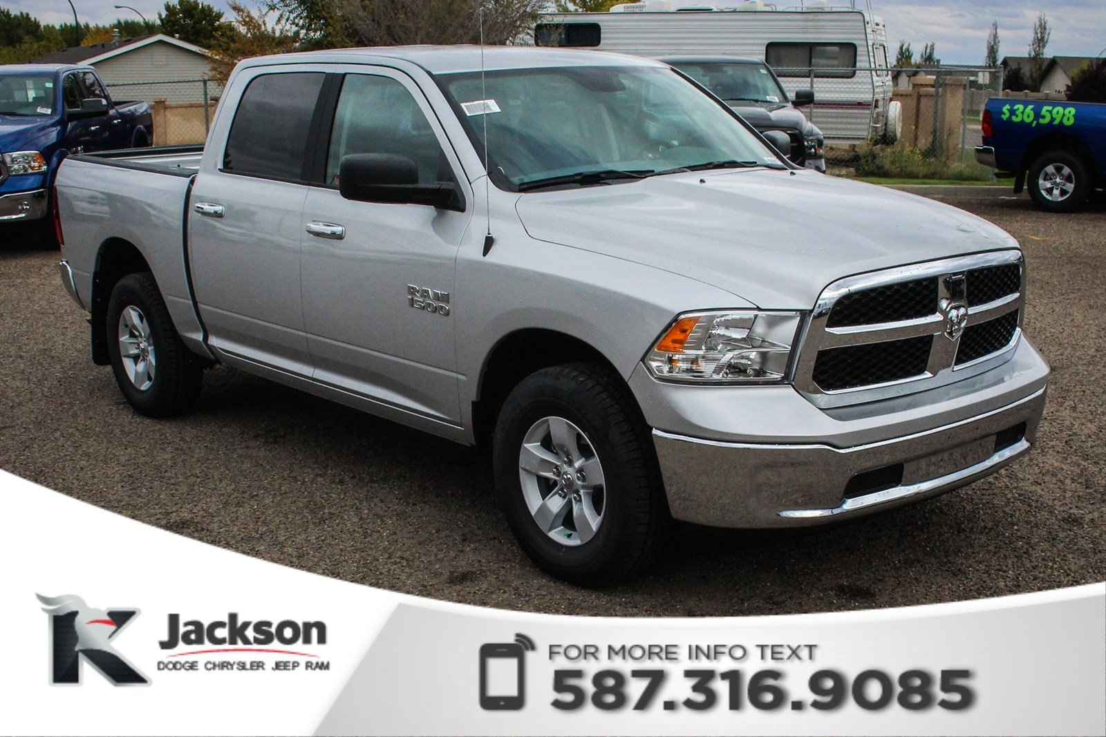 New 2018 Ram 1500 SLT Crew Cab | Back-up Camera - $221 B/W!