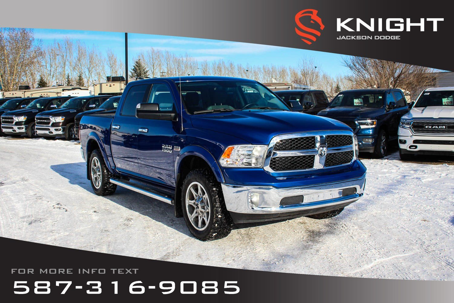 Pre-Owned 2017 Ram 1500 SLT Crew Cab - Heated Seats & Steering Wheel, Remote Start
