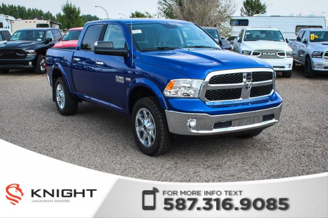 Pre-Owned 2017 Ram 1500 SLT Crew Cab | Heated Seats and Steering Wheel | Remote Start