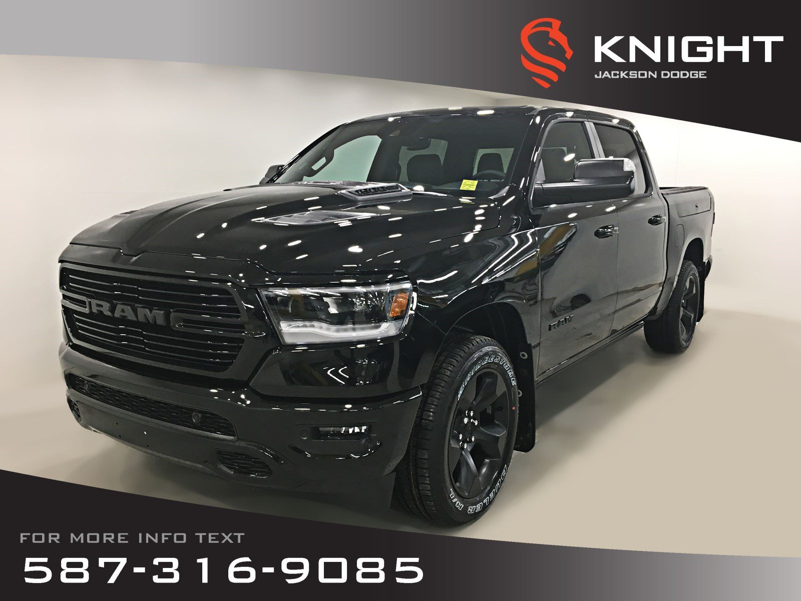 New 2019 Ram 1500 Sport Crew Cab | Leather | Sunroof | Navigation | 12 Touchscreen | RamBox
