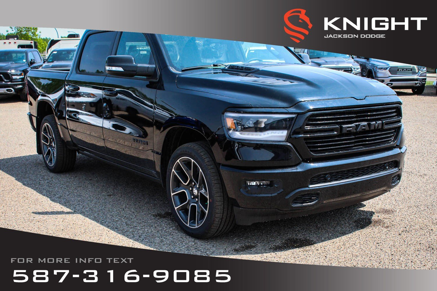 New 2019 Ram 1500 Sport Crew Cab | Leather | Sunroof | Navigation