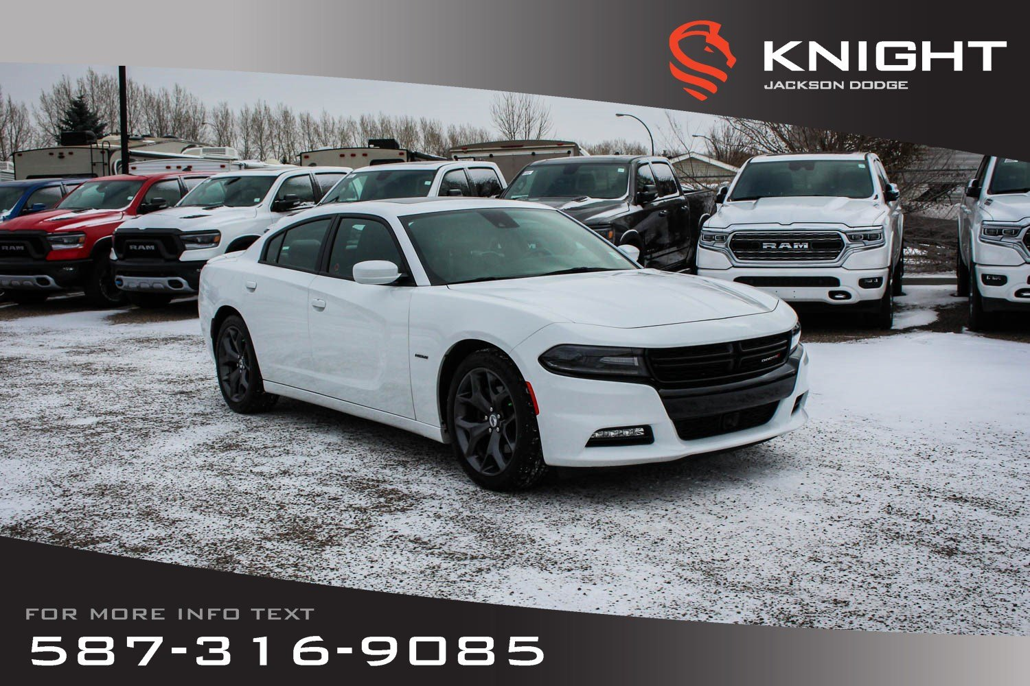 Pre-Owned 2017 Dodge Charger R/T - Leather, Sunroof, NAV