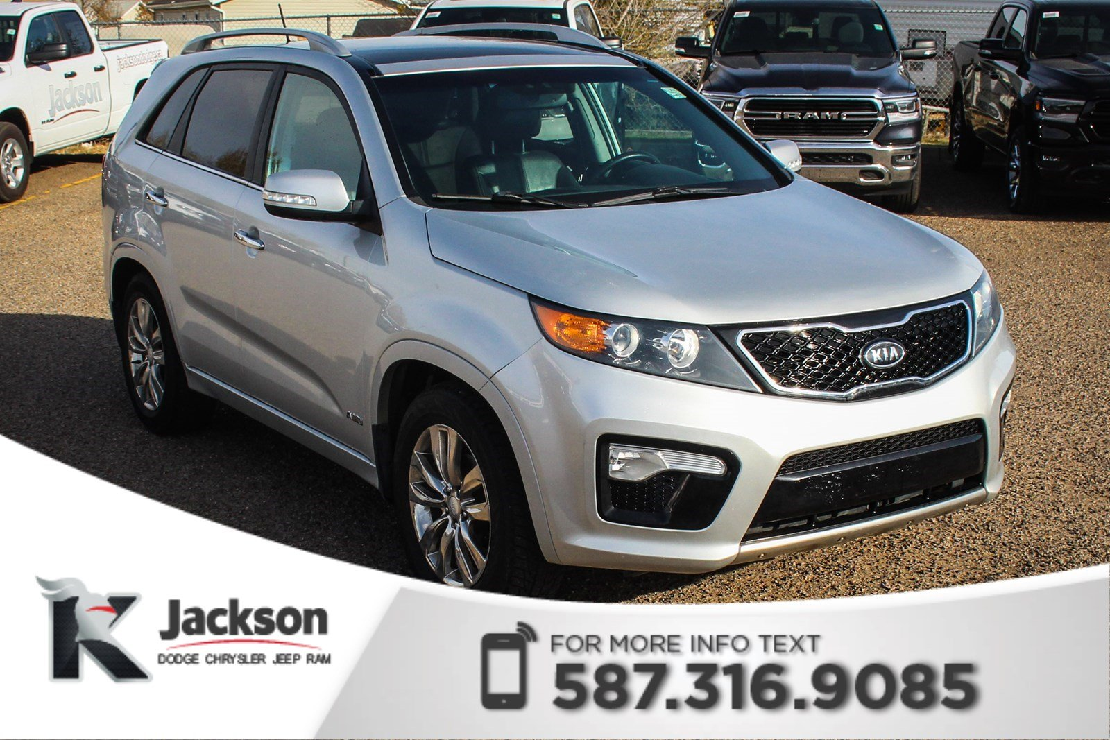 Pre Owned 2013 Kia Sorento SX   NAV, Rear View Camera, Sunroof