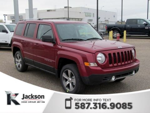 Pre-Owned 2017 Jeep Patriot High Altitude Edition 4x4 | Leather | Sunroof | Remote Start | *Demo*