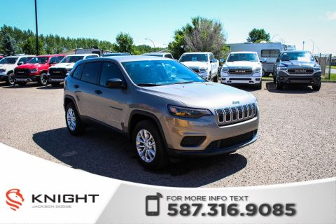 New 2019 Jeep Cherokee Sport 4x4 V6 | Heated Seats and Steering | Remote Start