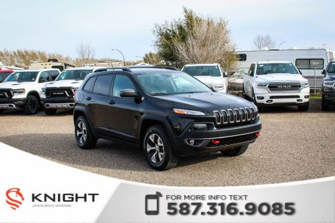 Pre-Owned 2015 Jeep Cherokee Trailhawk - Rear View Camera, Heated Steering Wheel