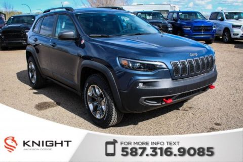 New 2019 Jeep Cherokee Trailhawk Elite 4x4 V6 | Sunroof | Navigation