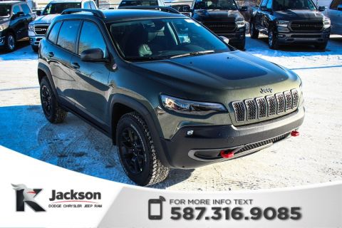 New 2019 Jeep Cherokee Trailhawk 4x4 V6 | Navigation
