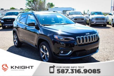 New 2019 Jeep Cherokee Limited 4x4 V6 | Sunroof | Navigation