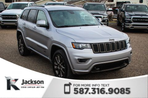 Pre-Owned 2017 Jeep Grand Cherokee Limited 75th Anniversary - Touchscreen, Bluetooth, Remote Start