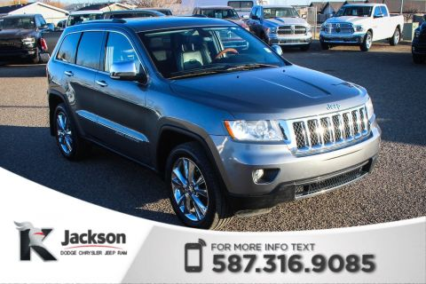 Pre-Owned 2012 Jeep Grand Cherokee Overland - Remote Start, Leather, NAV