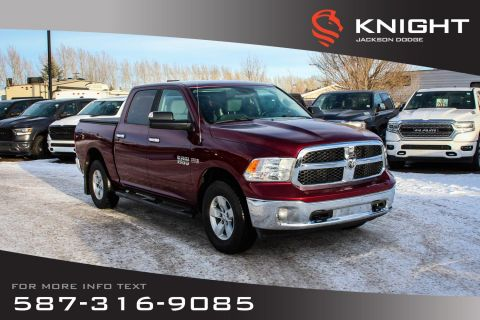 Pre-Owned 2017 Ram 1500 SLT - Remote Start, Touchscreen
