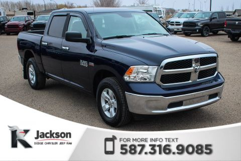 Pre-Owned 2017 Ram 1500 SLT Crew Cab - Large Touchscreen, Rear View Camera