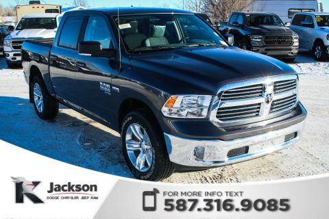 New 2019 Ram 1500 Classic SLT Crew Cab | Heated Seats and Steering Wheel | Navigation