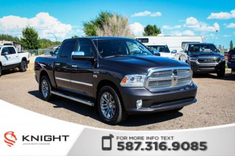 Pre-Owned 2014 Ram 1500 Longhorn Limited - NAV, Sunroof, Leather