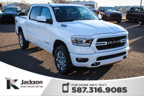New 2019 Ram 1500 Big Horn Crew Cab | Heated Seats and Steering Wheel | Navigation
