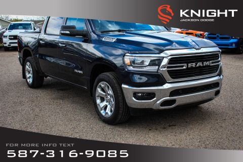 New 2019 Ram 1500 Big Horn Crew Cab | Sunroof | Navigation
