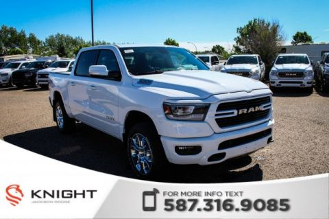 New 2019 Ram 1500 Big Horn Crew Cab | Heated Seats and Steering Wheel | Navigation | Remote Start