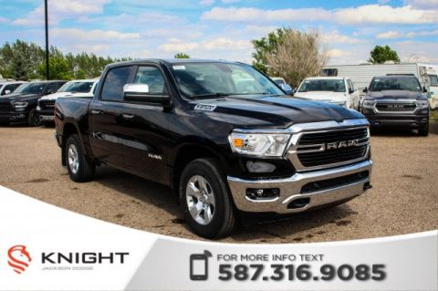 New 2019 Ram 1500 Big Horn Crew Cab | Heated Seats and Steering Wheel | Remote Start