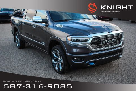 New 2019 Ram 1500 Limited Crew Cab | Navigation