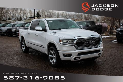 New 2019 Ram 1500 Limited Crew Cab | Navigation | 12 Touchscreen