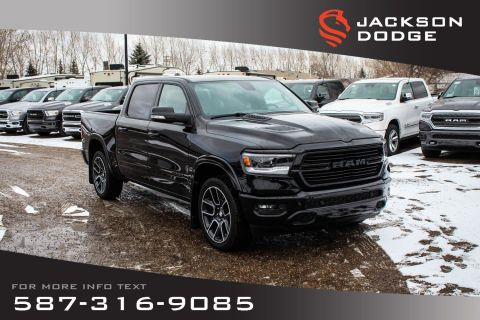 New 2019 Ram 1500 Laramie Crew Cab - Manager's Demonstrator