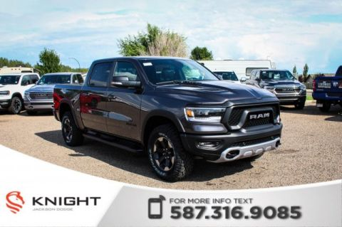 New 2019 Ram 1500 Rebel Crew Cab | Sunroof | Navigation | 12 Touchscreen