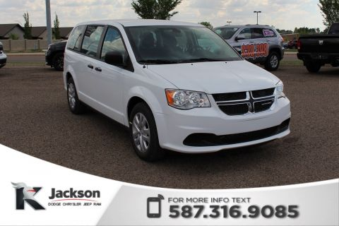 2018 Dodge Grand Caravan Canada Value Package - Save $8500