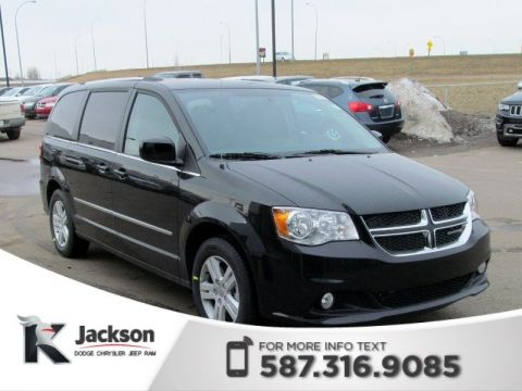 2017 Dodge Grand Caravan Crew Plus | Navigation | DVD