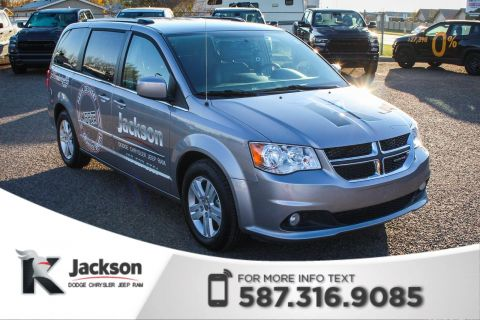 Pre-Owned 2017 Dodge Grand Caravan Crew Plus - Navigation, Remote Start