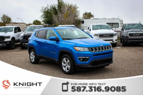 New 2019 Jeep Compass North 4x4 | Heated Seats and Steering Wheel | Remote Start