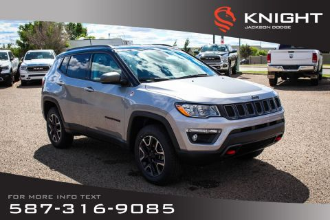 New 2019 Jeep Compass Trailhawk 4x4 | Navigation | Remote Start