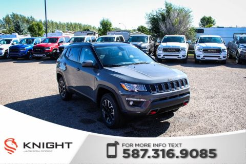 New 2019 Jeep Compass Trailhawk 4x4 | Leather | Navigation