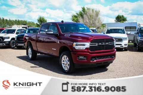 New 2019 Ram 2500 Big Horn Crew Cab | Heated Seats and Steering Wheel | Sunroof | Navigation