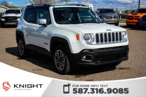New 2018 Jeep Renegade Limited 4x4 | Sunroof | Navigation